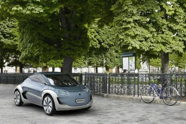 Renault s'est déjà intéressé à l'idée d'une micro-voiture... (Photos : Renault)