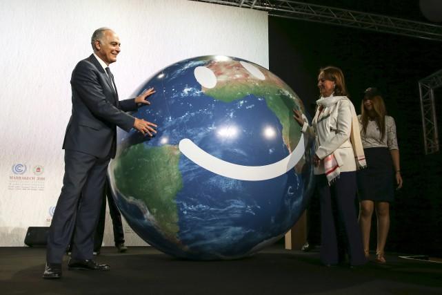 Le président de la Conférence des Nations-Unies sur... (AP, Mosa'ab Elshamy)