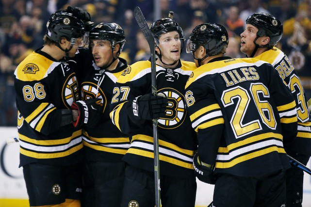 Les Bruins de Boston traversent présentement une éprouvante séquence... (Photo Michael Dwyer, AP)