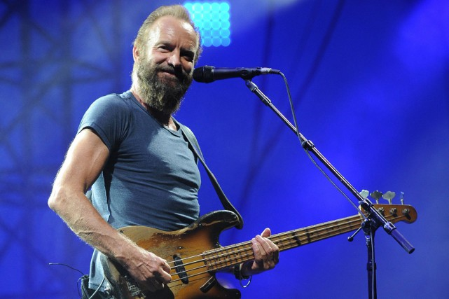Sting lors d'un spectacle à Nîmes en juillet... (PHOTO ARCHIVES AP)
