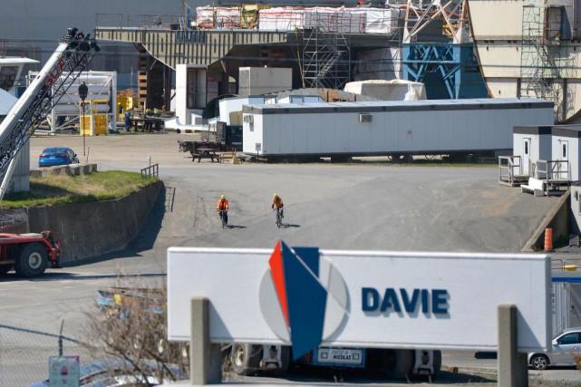 La relation entre le gouvernement Couillard et Chantier Davie Canada Inc.... (Photo Yan Doublet, archives Le Soleil)