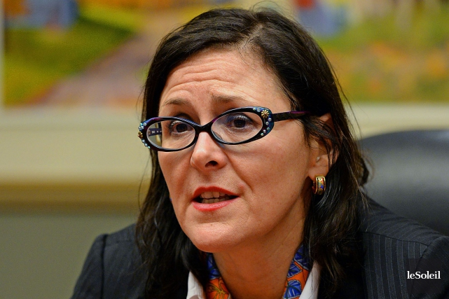 Le docteure Diane Francoeur, présidente de la Fédération... (Photo Patrice Laroche, archives Le Soleil)