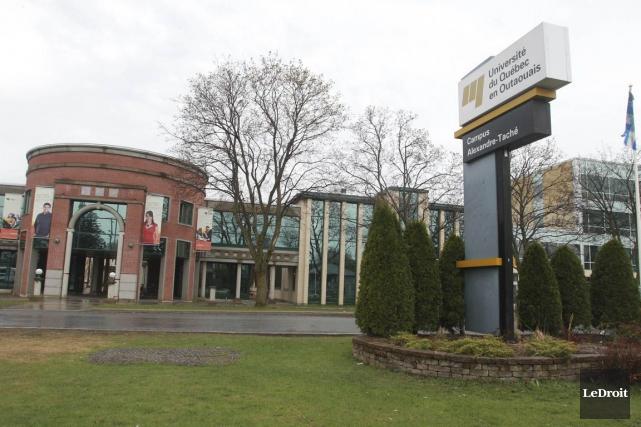 L'Université du Québec en Outaouais... (Patrick Woodbury, Archives Le Droit)