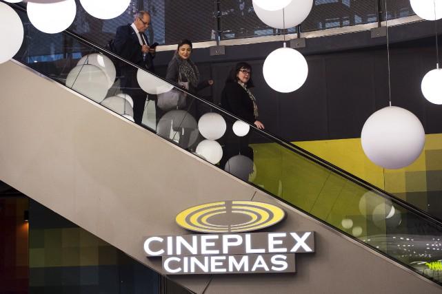 Cineplexa vu son bénéfice net bondir de 21,3... (Archives La Presse canadienne)