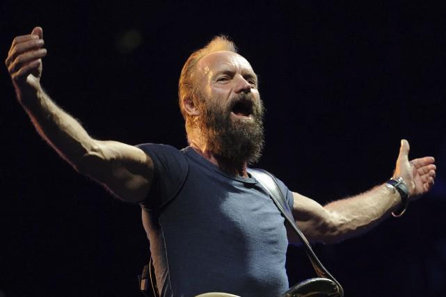 Sting ne prendra pas de cachet et les... (AFP, Sylvain Thomas)