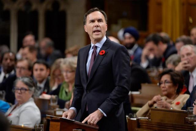 «À la lecture de l'énoncé économique du gouvernement... (Photo Adrian Wyld, La Presse Canadienne)