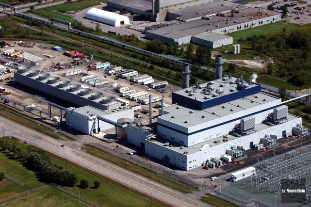 L'usine TransCanada Energy, située dans le parc industriel... (François Gervais, Le Nouvelliste)
