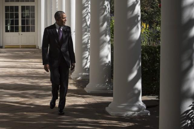 Barack Obama compte utiliser le temps qu'il lui... (AFP, Nicholas Kamm)