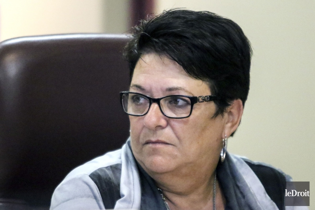 La conseillère municipale Louise Boudrias... (Archives, Le Droit)