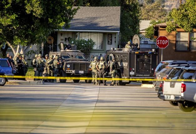 Le communiqué du shérif du comté de Los... (PHOTO AP)
