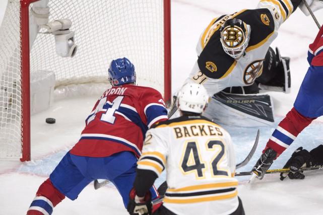 Paul Byron a marqué dans les derniers instants... (La Presse canadienne, Ryan Remiorz)