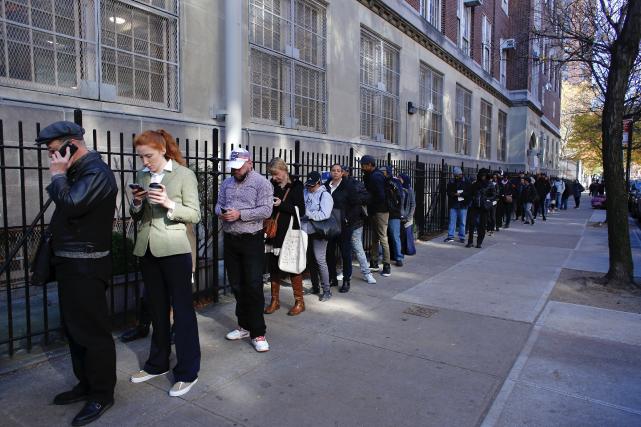 Dans Harlem et dans plusieurs quartiers de New... (AFP, Kena Batancur)