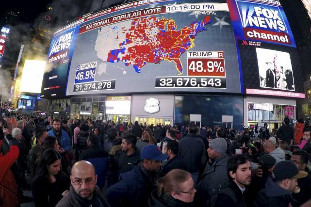 ÉDITORIAL / Un autre vote où les sondages ont sous-estimé les mouvements... (Agence France-Presse)