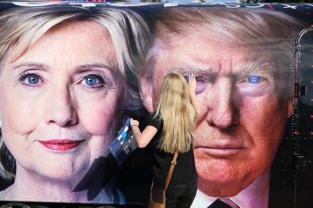 Les résultats inattendus du candidat républicain à la présidence Donald Trump... (Archives)
