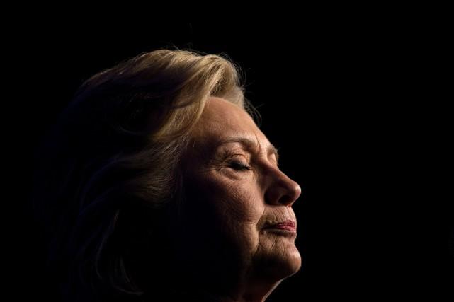 Le candidate démocrate à la présidence, Hillary Clinton... (PHOTO ARCHIVES AFP)