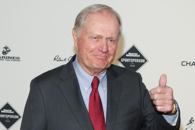 Le légendaire Jack Nicklaus a eu le mandat de... (Photo Andy Kropa, archives AP)