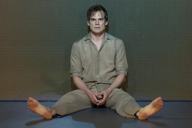 Michael C. Hall dans une scène de Lazarus.... (PHOTO AFP)
