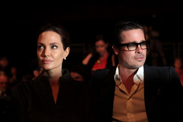 Angelina Jolie et Brad Pitt se sont séparés... (Archives AFP, Carl Court)