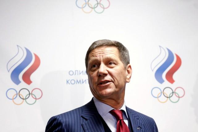 Le président du Comité olympique russe,Alexander Zhukov.... (Photo Maxim Zmeyev, archives Reuters)