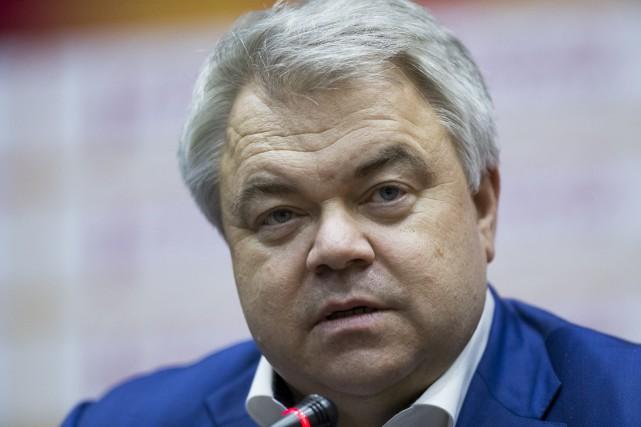 Le secrétaire général de la Fédération russe d'athlétisme,... (Photo Alexander Zemlianichenko, archives AP)