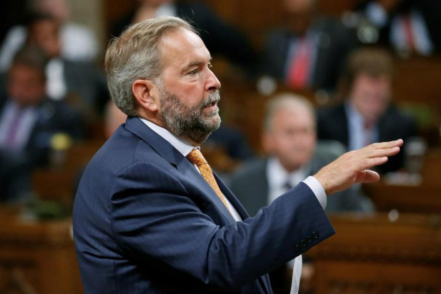 Thomas Mulcair... (PHOTO Chris Wattie, archives Reuters)