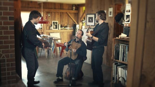 Le groupe de musique traditionnelle Soulwood s'est inspiré... (Photo fournie par Télé-Québec)