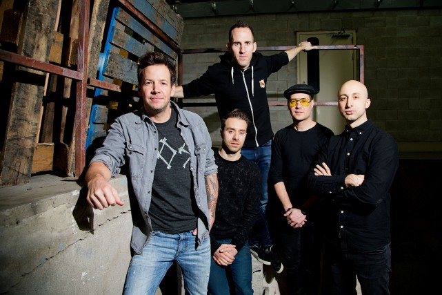 Le spectacle de Simple Plan prévu à l'amphithéâtre... (Archives La Presse, Alain Roberge)