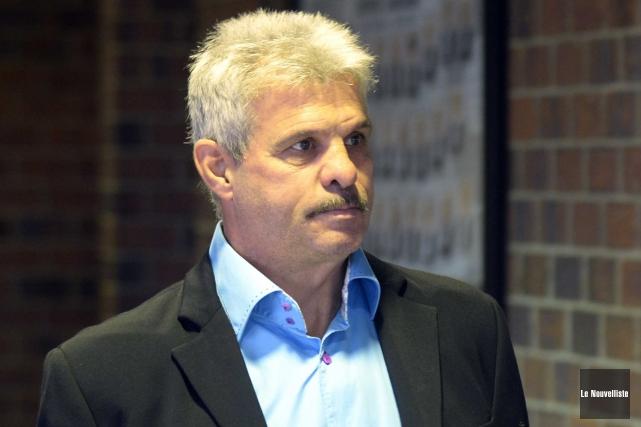 Le procès de Sylvain Girard, accusé de conduite... (Sylvain Mayer, Le Nouvelliste)
