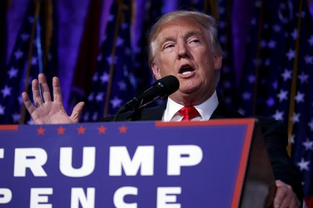 L'élection de Donald Trump à la présidence des... (AP)