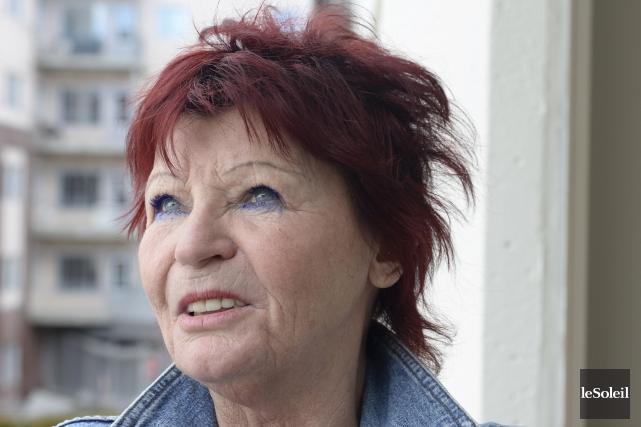 Marlène Drolet, la mère de Jessy Drolet... (Le Soleil, Jean-Marie Villeneuve)