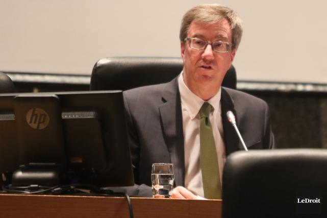 Le maire d'Ottawa, Jim Watson... (Patrick Woodbury, Archives Le Droit)