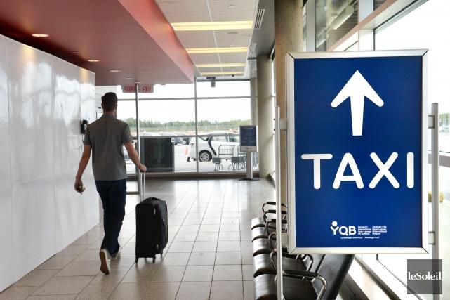 Le porte-parole du Regroupement des intermédiaires du taxi... (Le Soleil, Jean-Marie Villeneuve)