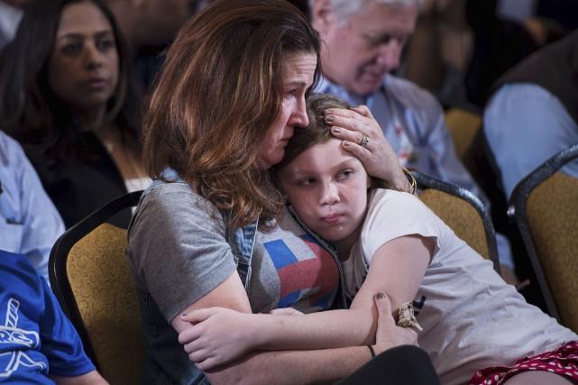 Plus de 150 millions d'Américains qui ont le... (AFP, Brendan Smialowski)