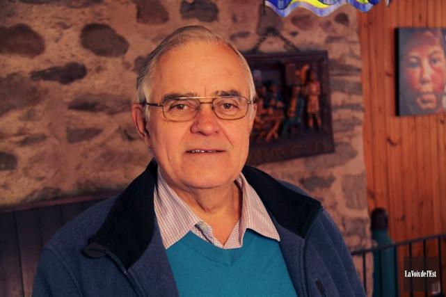 Michael Murray, président du conseil des commissaires de... (Archives, La Voix de l'Est)