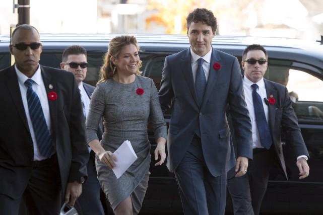 Le premier ministre Justin Trudeau a dit s'être... (La Presse canadienne, Adrian Wyld)