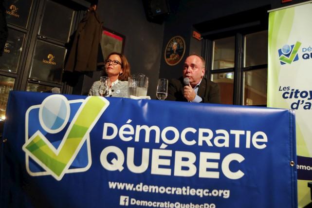 Alors que le candidat FrançoisMarchand s'est positionné contre... (Le Soleil, Caroline Grégoire)