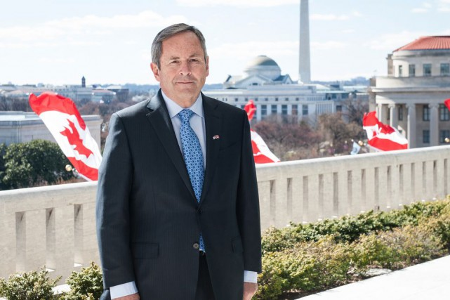 L'ambassadeur du Canada aux États-Unis,David MacNaughton... (Courtoisie)