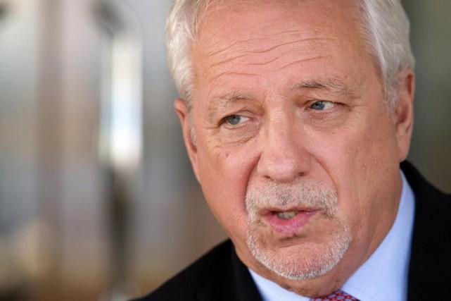 Pierre Marc Johnson, avocat et négociateur québécois pour... (Photo Robert Skinner, archives La Presse)