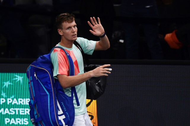 Tomas Berdych... (Photo Miguel Medina, AFP)