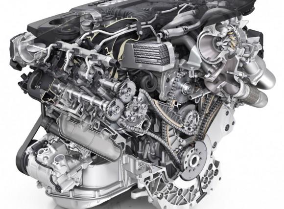 Un moteur V6 Audi.... (Photo Audi)