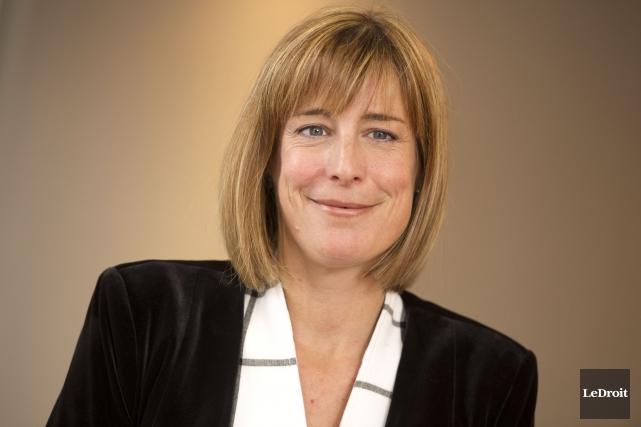 Debi Daviau est présidente de l'Institut professionnelde la... (Martin Roy, Archives Le Droit)