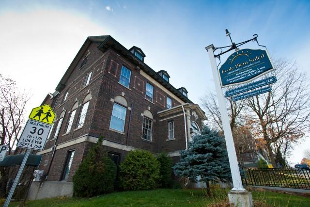 L'école primaire Plein Soleil quittera ses locaux de la rue de Montréal, à... (Spectre Média, Jessica Garneau)