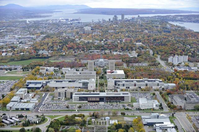 Le campus de l'Université Laval... (Université Laval)