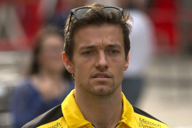 Le Britannique Jolyon Palmer est le pilote payant... (Photo : AP)