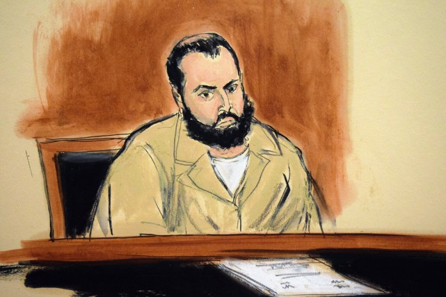 Ahmad Khan Rahimi a plaidé non coupable pour... (illustration Elizabeth Williams, archives AP)