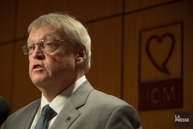 Le ministre québécois de la Santé, Gaétan Barrette... (OLIVIER PONTBRIAND, ARCHIVES LA PRESSE)