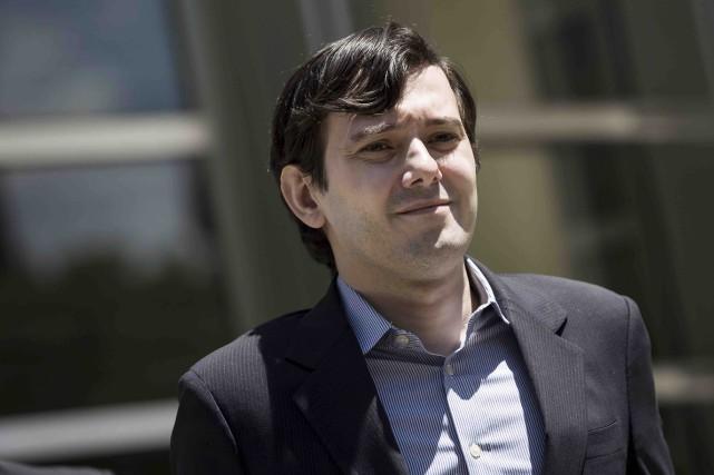 Le magnat détesté de l'industrie pharmaceutique MartinShkreli avait... (Archives AFP)