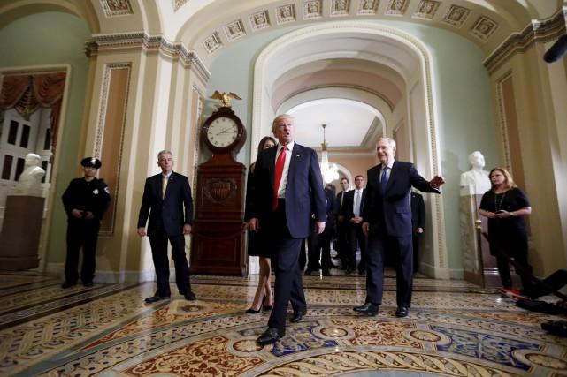 Donald Trump a fait fortune dans les affaires,... (AP, Alex Brandon)