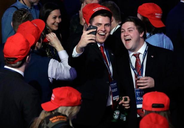 «Nos voisins américains nous avaient impressionnés après huit... (Photo John Locher, Associated Press)