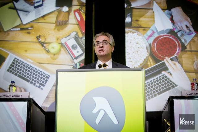 Le président et chef de la direction de... (La Presse, Alain Roberge)
